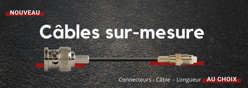 Câbles et jarretières sur-mesure