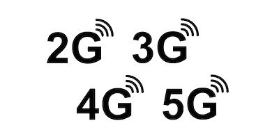 Réseaux cellulaires 2G 3G 4G 5G